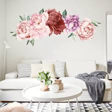 Flower Wall Decals For Nursery South Africa Grass And Tree Design Vintage Australia Target Large Walmart Bathroom Vamosrayos
