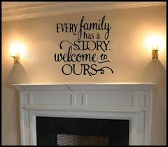 Every Family Has A Story Vinyl Wall Decal Living Room Decal Family Room Decal Family Wall Decal Living Room Wall Decal Saying Decal Living Room Decals Wall Decals Living Room Vinyl