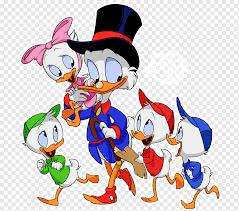 louie donald duck cartoon