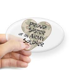 Buy Cafepress Proud Sister Army Soldier Oval Sticker Oval Bumper Sticker Euro Oval Car Decal In Cheap Price On Alibaba Com
