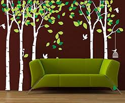 Anber Giant Jungle Tree Wall Decal Removable Vinyl Mural Art Wall Stickers For For Sale Online