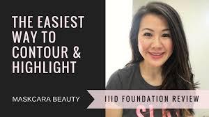 contour and highlight maskcara beauty