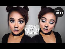 easy cat makeup tutorial for halloween
