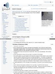 wiki quote cioran docshare tips