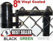 Black Vinyl Coated Chain Link Supplies Wholesale Black Chain Link Fence Wholesale Prices Black Green White Pvc Vinyl Coated Cyclone Fence 3ft 4ft 5 Ft 6ft 7ft 8ft 10ft 12ft