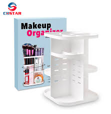 360 rotating glam caddy spinning makeup