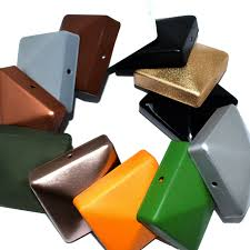 Fence Post Caps For 100mm Square Posts Cap Size 120 X 120 X 26mm Pack Of 100 For Sale Ebay
