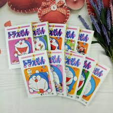 Giảm 25 %】 Truyện tranh tiếng Nhật Doraemon – Trọn bộ 10 tập (truyện ngắn)