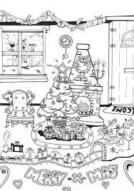 Kerst Kleurplaat Gratis Kleurplaten Kerstmis Kleurplaten