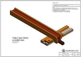 Table Saw Rip Fence Wood Motive