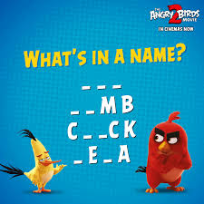 The Angry Birds Movie - How fast can you guess the names of these  delightful creatures from the Angry Birds Universe? Share your answers in  the comments below.
