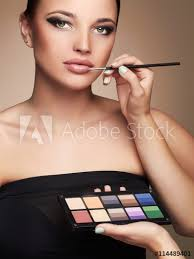 beautiful woman face beauty with