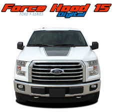 Auto Parts Accessories 2009 2014 Force Hood Racing Vinyl Graphics Kit Decals Stripes Fits Ford F 150 Smaitarafah Sch Id