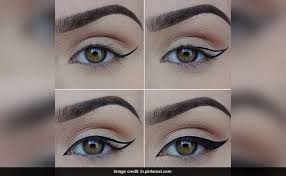 tricks for perfect winged eyeliner