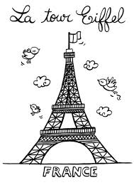Pictures Of Eiffel Tower To Color Jpg 452 640 Kleurplaten