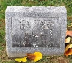 Ada Simmons Staffa (1913-1938) - Find A Grave Memorial