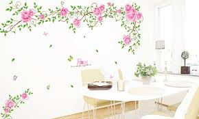 Best Seller Landscape Photo Wall To Stick Decals Sitting Room Tv Setting Of Bedroom The Head A Bed Decorative Stickers Romance Rose Vine 69 The Toys Focus 46