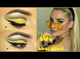 60s 70s inspired makeup tutorial