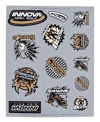 Innova Icon Sticker Sheet Disc Golf Accessories