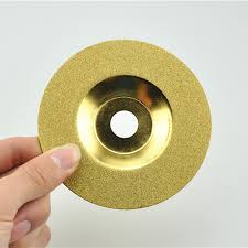 diamond bowl shaped cutting disc