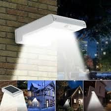 Solar Powered 72 Led Gutter Door Wall Fence Lights Outdoor Solar Garden Lights Ebay