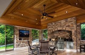 living room fireplace tv patio backyard