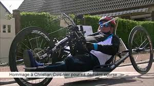 Course Handbike - YouTube