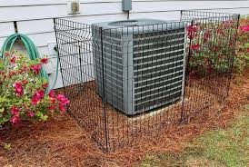 The Multi Purpose Fence Makes A Great Barrier To Put Around Your Hvac Unit Ironcraft Lowes Fence Fencin Backyard Fences Aluminum Fencing Hvac Unit