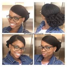 8 natural hairstyles for work to try