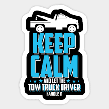 Tow Truck Drivers Wife Stickers Teepublic