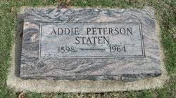 Addie Edwards Peterson-Staten (1898-1964) - Find A Grave Memorial