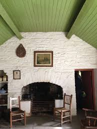 irish cottage hearth by unknown author