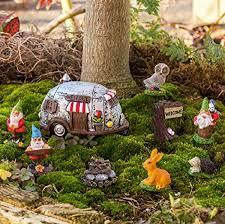 fairy garden gnome campground figurine