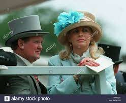 JOHN & WENDY JENKINS (R.ASCOT) RACE HORSE TRAINER AND WIFE 27 June Stock  Photo - Alamy