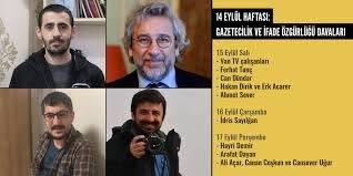 14 Eylül haftası: Gazetecilik ve ifade özgürlüğü davaları | Medya ve Hukuk  Çalışmaları Derneği