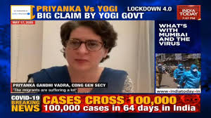 India Today - Priyanka Gandhi Vs Yogi Adityanath | Facebook