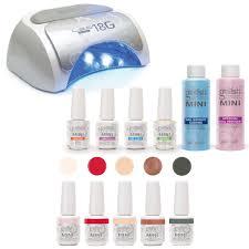 led light mini basix gel nail polish
