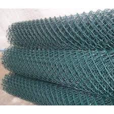 1 8m Pvc Coated Green Diamond Mesh Fence Tech