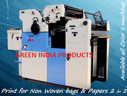 automatic multi color offset printing