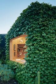 Writer S Shed By Matt Gibson Is A Melbourne Garden Studio Covered In Ivy