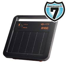 Gallagher S100 Solar Powered Energiser Charger Battery 12v Electric Fence Online