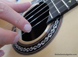 lesson for clical guitar nails