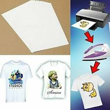 A4 Light Transfer Paper Print On Me Diy On T Shirt Fabric Paper Decal S9t5 Business Industrial Iron On Paper Ponycobandhorsesaddles Com