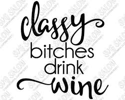 wine glass sayings clipart