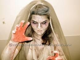 cool zombie bride costume