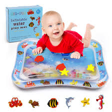 tummy time water play mat for es