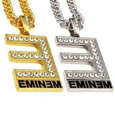 punk hip hop gold color letter e
