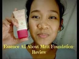 essence all about matt make up