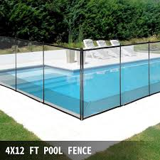 Pool Fences4 X12 In Ground Swimming Pool Safety Fence Section Prevent Accidental 711181091298 Ebay