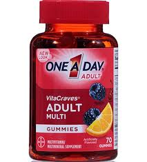 one a day vitacraves gummy multivitamin